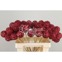 STICK BAROQUE BALL ROJA