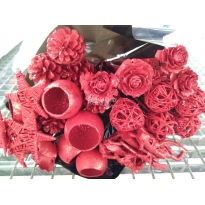 BOUQUET ROJO BRILLO